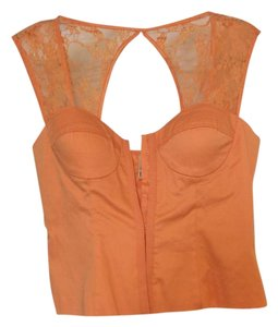 Forever 21 Lace Top Orange