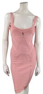 Hervé Leger Bandage Bodycon Cut Out Dress