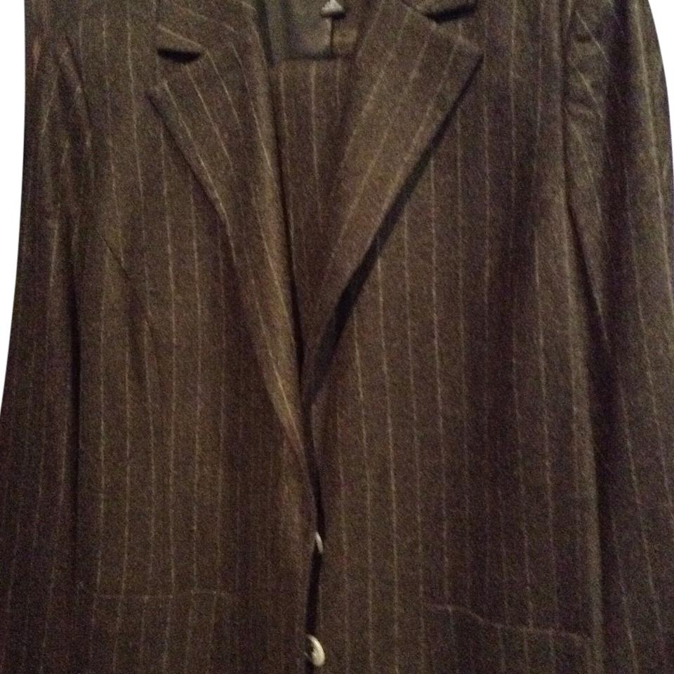 cd0d2e7c1fbf5 Banana Republic Charcol Grey Pant Suit. Size  16 (XL ...