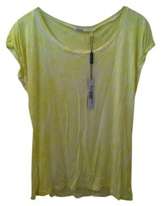 Elie Tahari T Shirt Yellow
