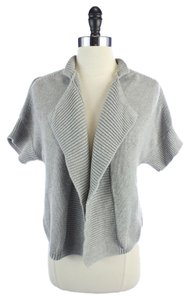 Talbots Front Short Sleeve Sweater Cardigan
