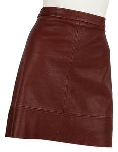A.L.C. Mini Skirt Maroon