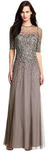 Adrianna Papell Sequin Beaded Dress