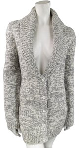 Michael Kors Cashmere Two Tone Shawl Collar Over Sized Sweater Dress Cardigan