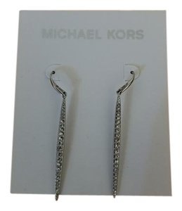 Michael Kors Michael Kors silver pave earrings NWT