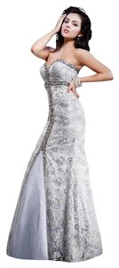 MNM Couture Strapless Dress