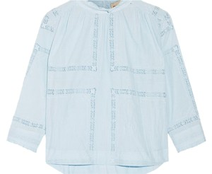 Sea New York Peasant Top SKY BLUE