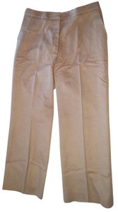 Max Mara Straight Pants Camel