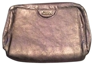 Chloé Wristlet in Bronze