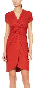 Catherine Malandrino short dress Red on Tradesy