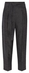 3.1 Phillip Lim Wool Linen Tapered Trouser Pants BLUE