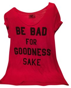 Victoria's Secret Pink Victoria T Shirt Red