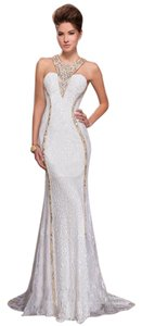 MNM Couture Sexy Evening Night Out Long Gown Dress