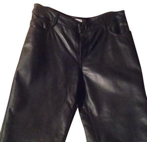 Pelle Studio Boot Cut Pants Black