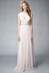 Monique Lhuillier Blush-Lavender 450275 Dress