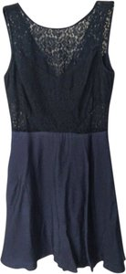 BCBGeneration short dress Blue Sleeveless on Tradesy
