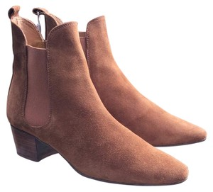 Uterqe Tan Boots