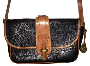 Dooney & Bourke Vintage Classic Leather Cross Body Bag