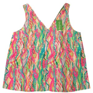 Lilly Pulitzer Top Dripping in Jewels