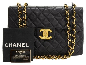 Chanel Maxi Jumbo Shoulder Bag