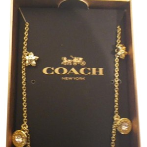 Coach Coach small charm necklace