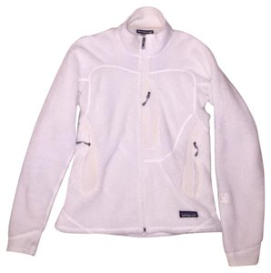 Patagonia Fleece Full-zip White Jacket