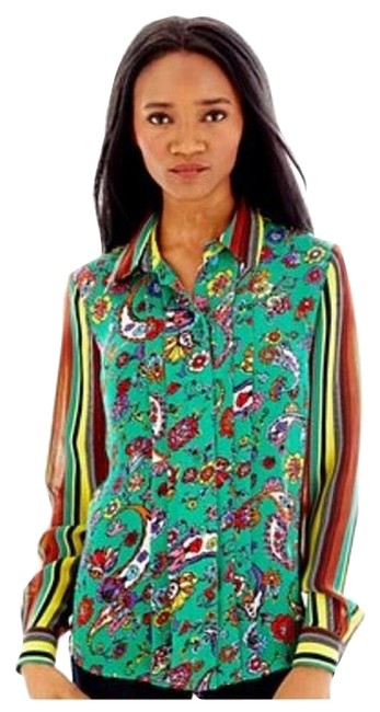 Preload https://item3.tradesy.com/images/duro-olowu-button-down-shirt-1959427-0-0.jpg?width=400&height=650