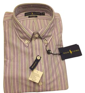 Ralph Lauren Collection Button Down Shirt Lavender