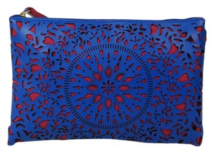 Carlos by Carlos Santana Wristlet in Blue and Red