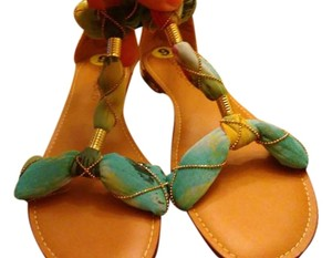 Cynthia Rowley Tan/ Multi Sandals