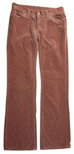 Tory Burch Straight Corduroy Straight Pants BROWN