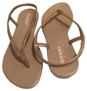 Old Navy Gray/silver Sandals