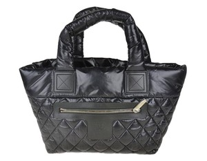 Chanel Cocoon Coco Tote in Black