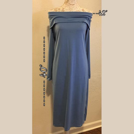 16815361734 80%OFF Beautiful Shade Of Blue Off Maxi Dress  19594686 - Casual Dresses (