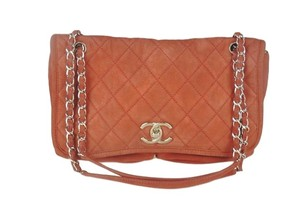 Chanel Classic Calfskin Flap Shoulder Bag