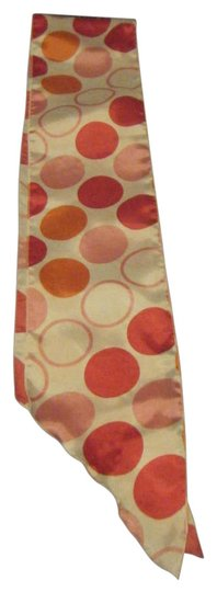 Preload https://item5.tradesy.com/images/white-with-pink-red-and-orange-circles-fun-colored-scarfwrap-195949-0-0.jpg?width=440&height=440