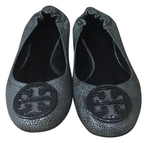 Tory Burch Grey Flats