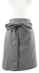 Saks Fifth Avenue Ave Career Professional Office Skirt Grey