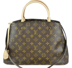Louis Vuitton Lv Montaigne Mm Shoulder Bag