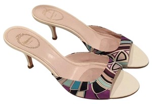 Emilio Pucci Multi colored Sandals