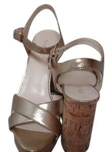 Nine West Gold color Sandals