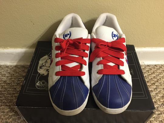 Phat Farm Multi Color Sneaker Collector Laces White/Blue/Red Athletic