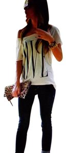 Love Cut-out T Shirt Off White