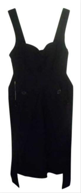City Triangles short dress dark navy on Tradesy