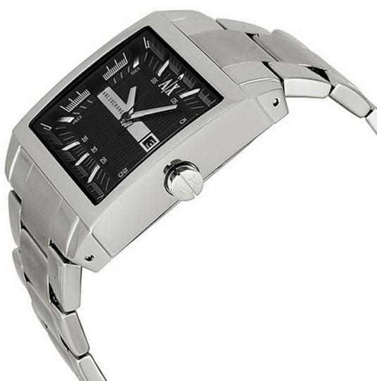 A|X Armani Exchange Armani Exchange Smart Black Dial Stainless Steel Mens Watch AX2200