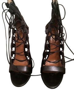 Aquazzura Black Sandals