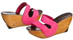 Robert Clergerie Pink Wedges