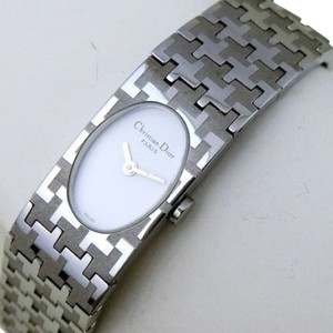 Dior Miss Dior textured ss Bracelet Watch D70-100