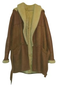 Shearling Leather Unisex Fur Coat