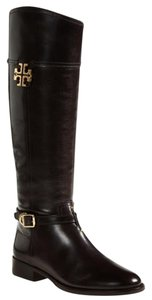 Tory Burch Eloise Riding Brown Boots